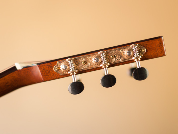 Preston Thompson 12 Fret Dreadnought Headstock