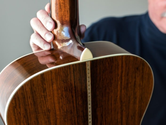 Reviewed Brazilian Rosewood OM