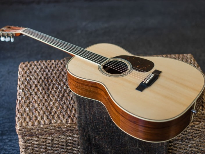 Preston Thompson's personal 12 Fret 00 acoustic guitar. 4