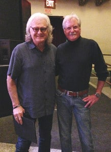 Preston Thompson with Ricky Skaggs in Portland, Oregon