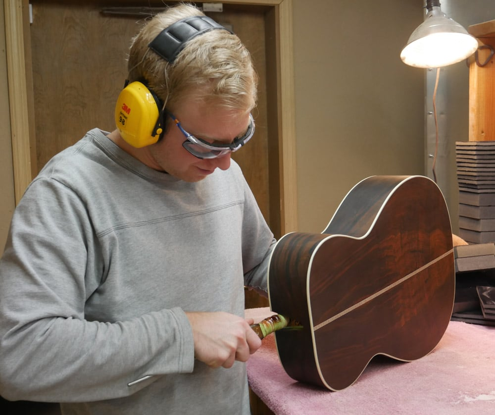 Shop Tour - Preston Thompson Guitars