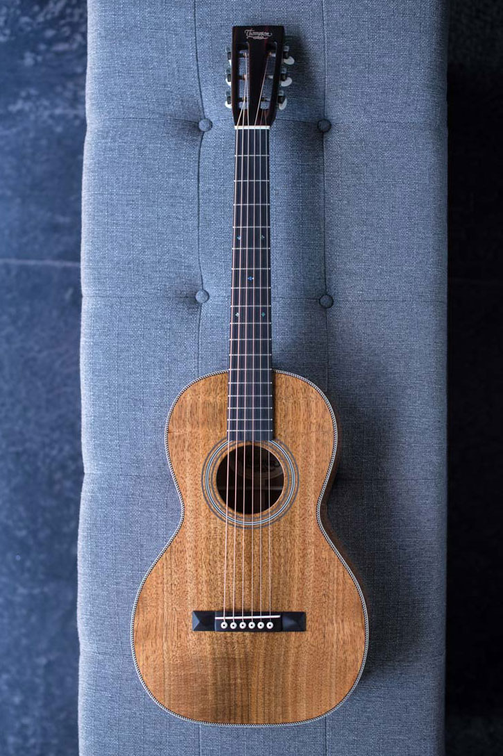 Parlor Acoustic Guitar : koa wood size 2 parlor guitar preston thompson ~ Russianpoet.info Haus und Dekorationen