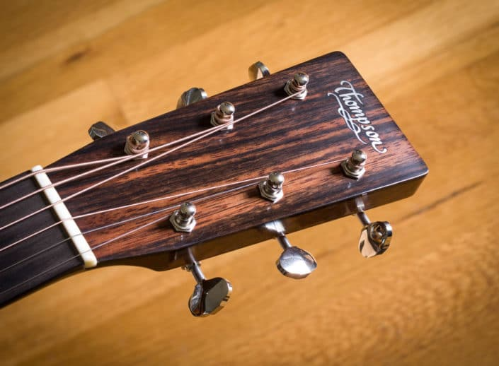 Custom Slope Shoulder Dreadnought guitar