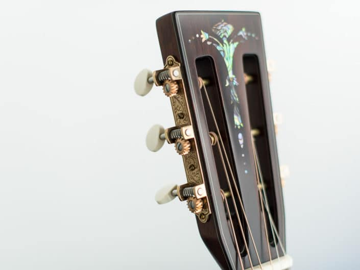 custom guitar inlay headstock