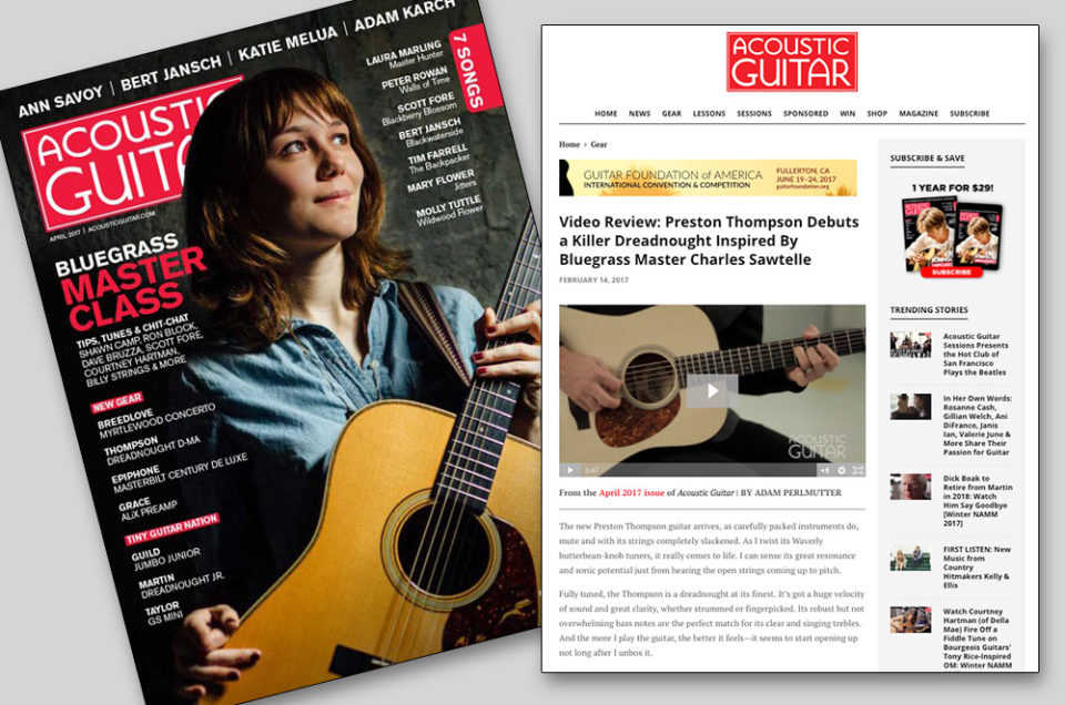 Acoustic Guitar Magazine Review