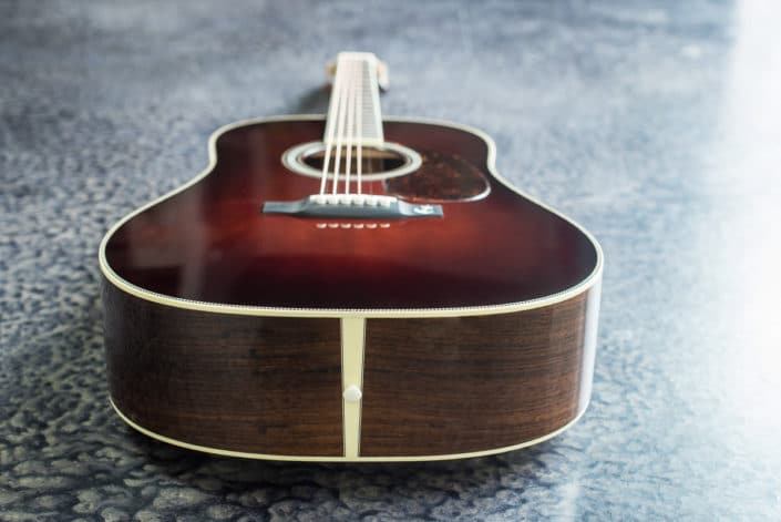 sunburst brazilian rosewood dreadnought