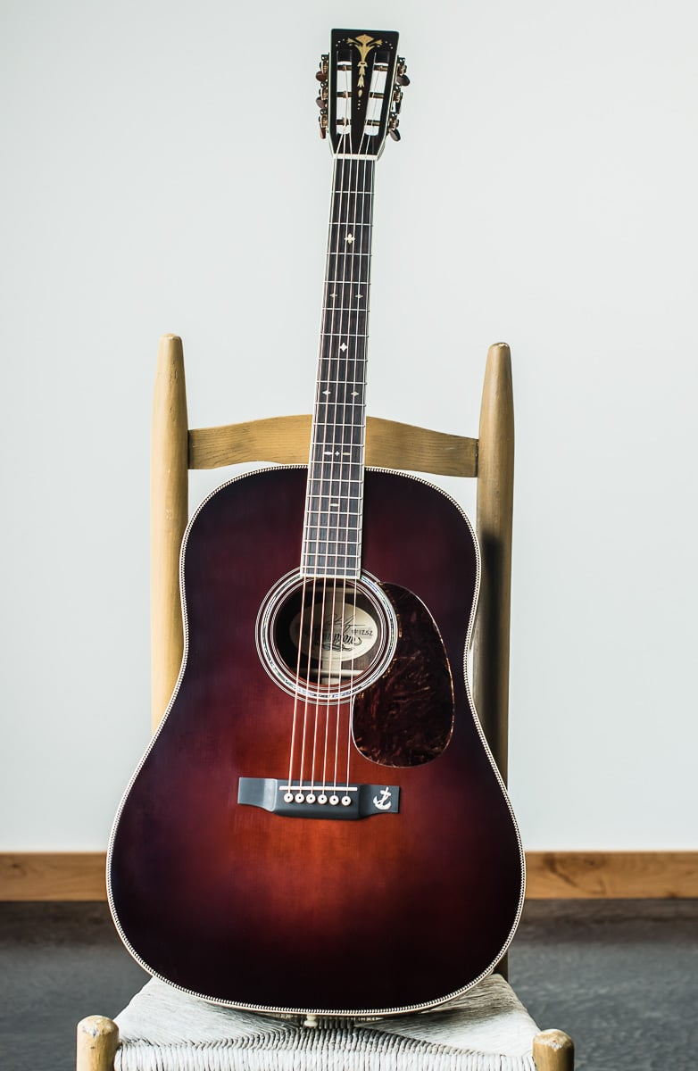 brazilian rosewood dreadnought acoustic guitar for sale