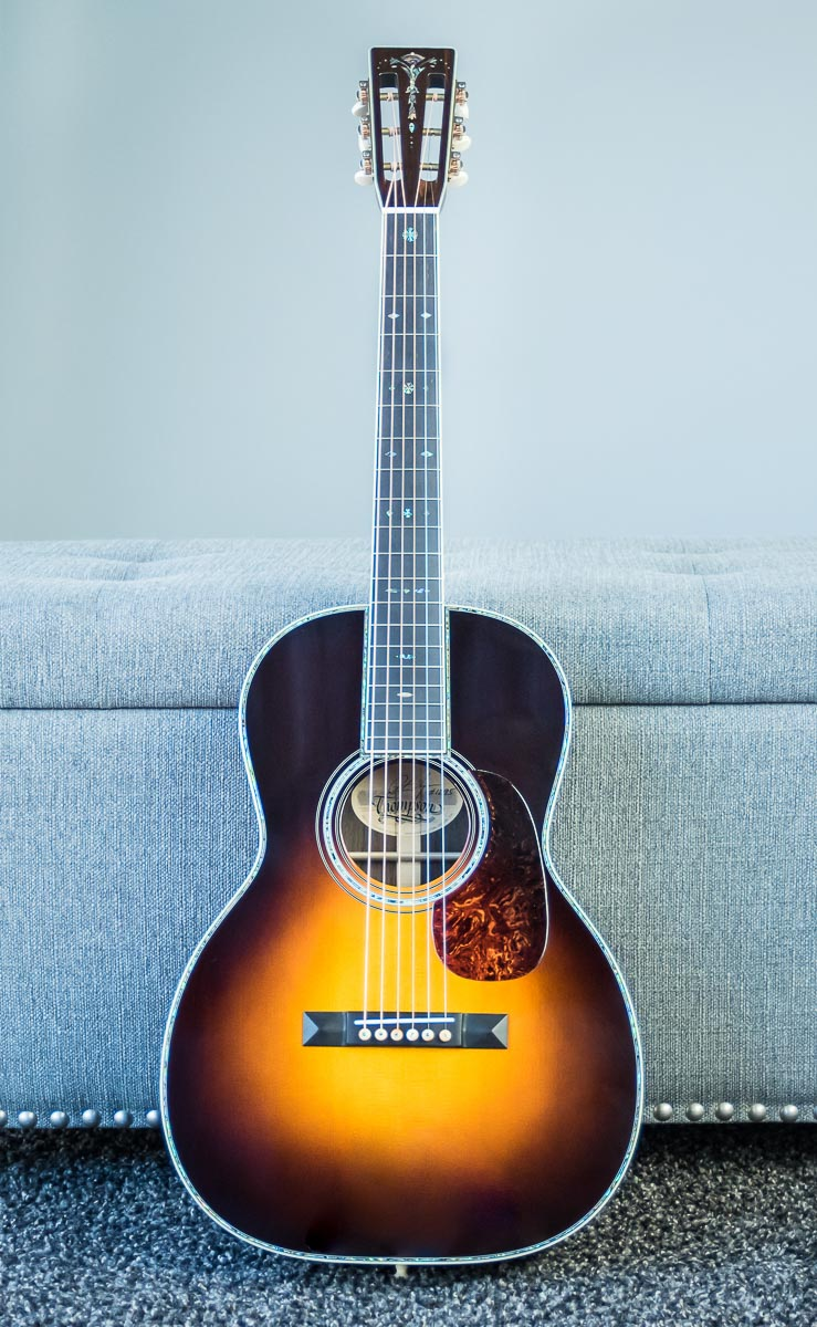 Custom Sunburst slotted head dreadnought
