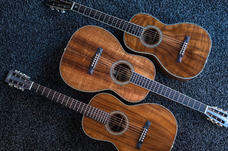 All Koa Guitars – Parlor, 0 and 00
