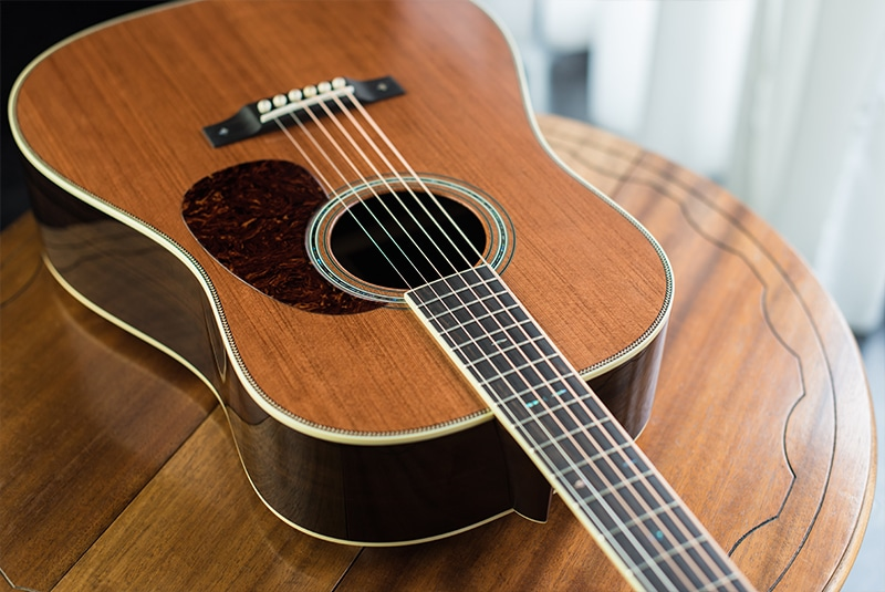 REDWOOD EAST INDIAN  - 12 Fret Dreadnought