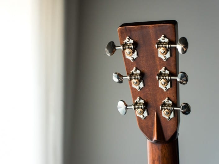 Preston Thompson brazilian-rosewood-OM-acoustic guitar headstock 7