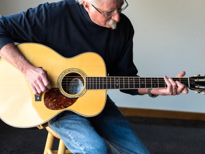 Preston Thompson Brazilian Rosewood OM Guitar