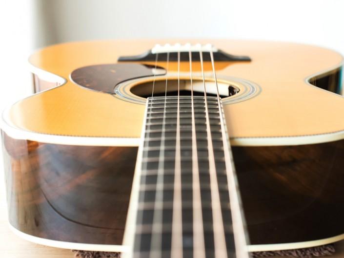 Preston Thompson Brazilian Rosewood OM Guitar Top