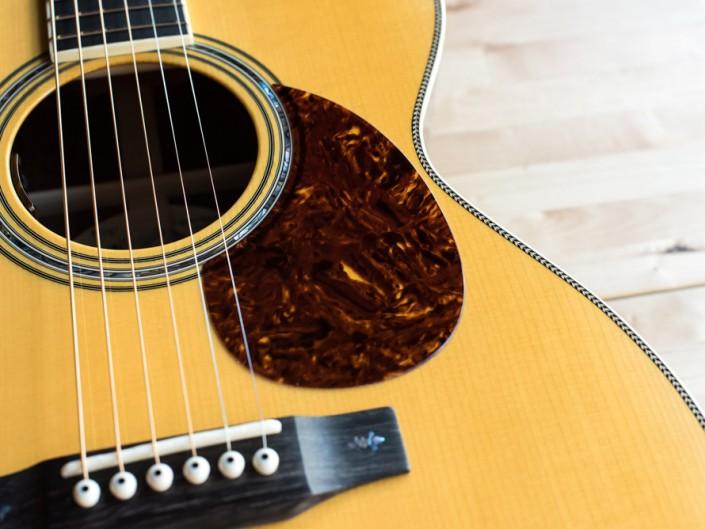 Preston Thompson Brazilian Rosewood OM Guitar Top 2