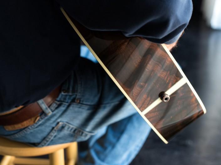 Preston Thompson Brazilian Rosewood OM Guitar 3