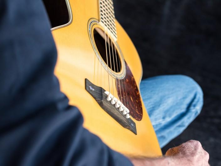 Preston Thompson Brazilian Rosewood OM Guitar 4