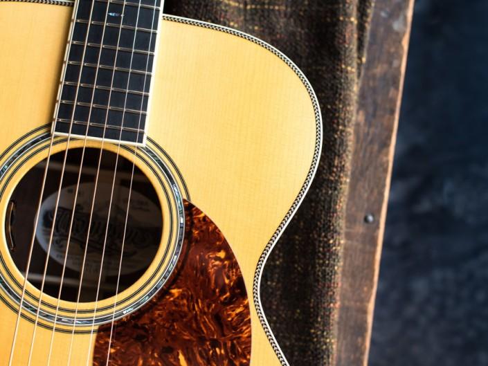 Preston Thompson Brazilian Rosewood OM Guitar 5