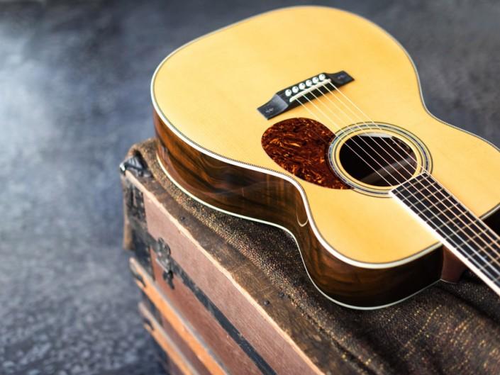 Preston Thompson Brazilian Rosewood OM Guitar 6