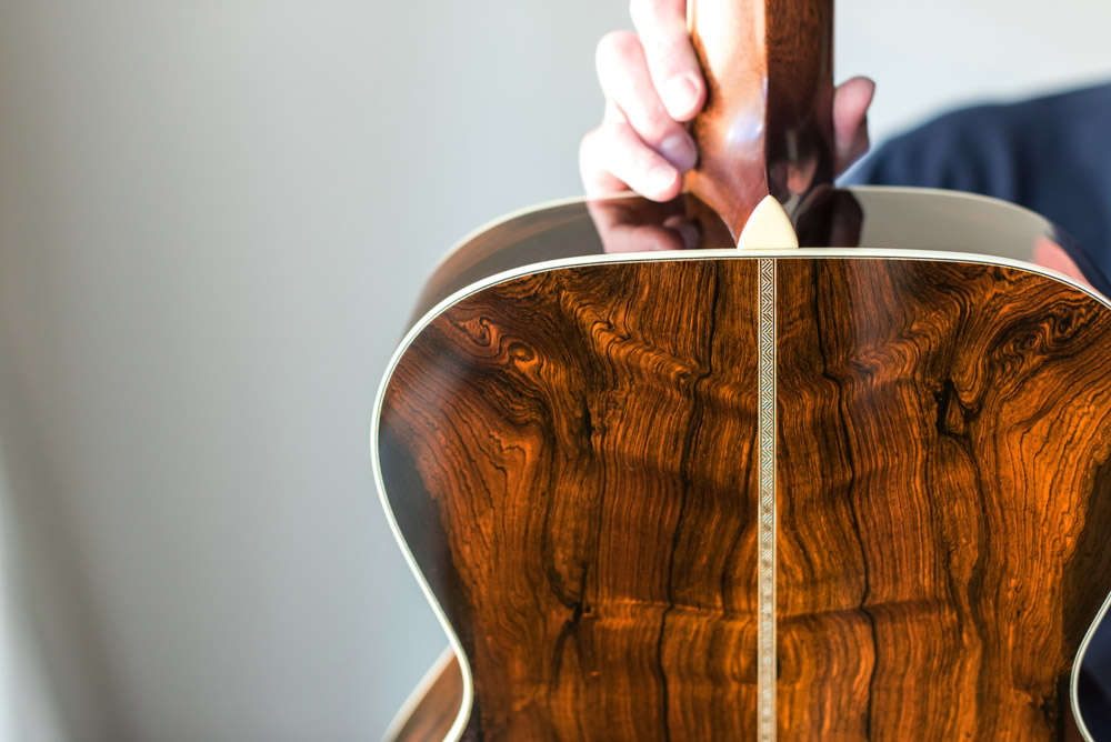 salvaged brazilian rosewood preston thompson guitars. Black Bedroom Furniture Sets. Home Design Ideas