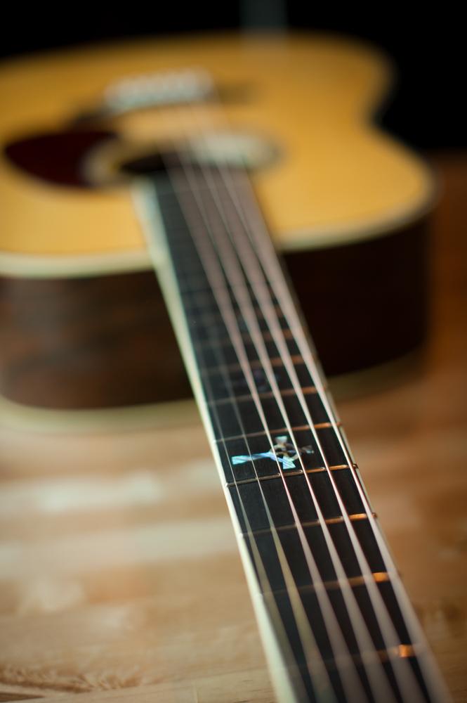 Preston Thompson Acoustic deluxe brazilian rosewood dreadnought Guitar-3