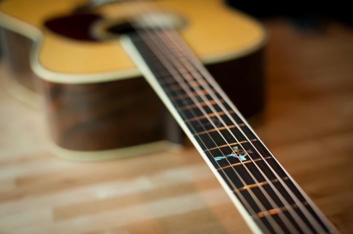 Preston Thompson Acoustic deluxe brazilian rosewood dreadnought Guitar 4