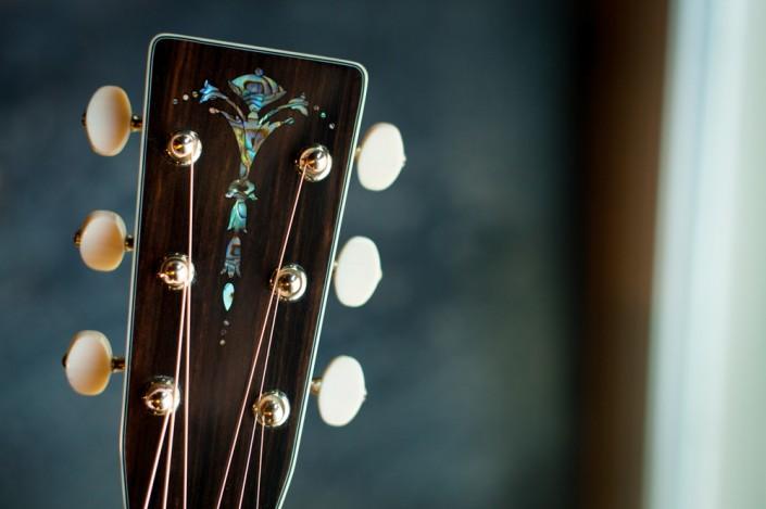 Preston Thompson Acoustic deluxe brazilian rosewood dreadnought Guitar 5