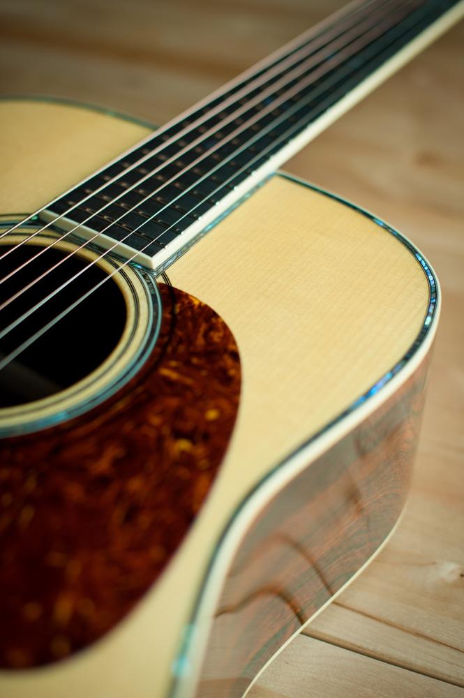 Preston Thompson Acoustic deluxe brazilian rosewood dreadnought Guitar 7