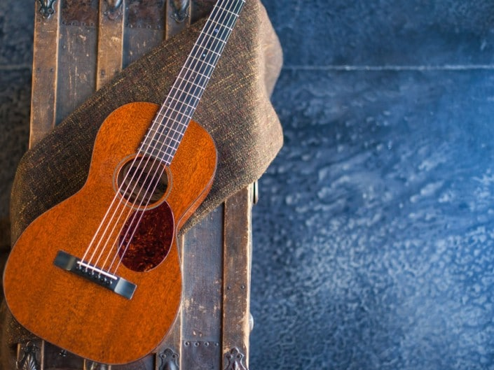 Thompson Guitars acoustic-guitar-mahogany-size-2-parlor-5