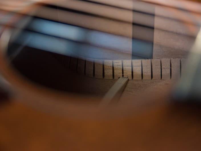 Thompson Guitars acoustic-guitar-mahogany-size-2-parlor- 8 sound hole