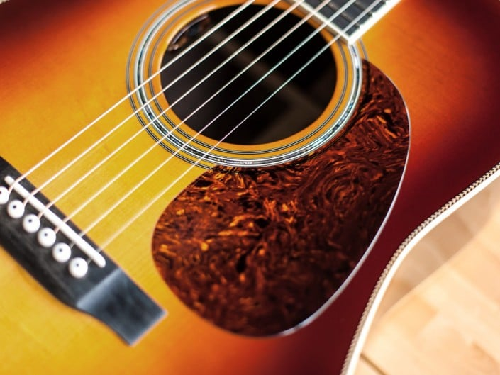 Preston Thompson Acoustic Guitars Exclusive Chris Luquette Signature Dreadnought guitar, handcrafted from Brazilian Rosewood. Top