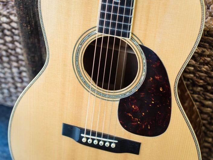 Preston Thompson's personal 12 Fret 00 acoustic guitar.