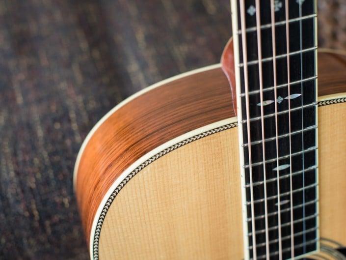 Preston Thompson's personal 12 Fret 00 acoustic guitar. 3