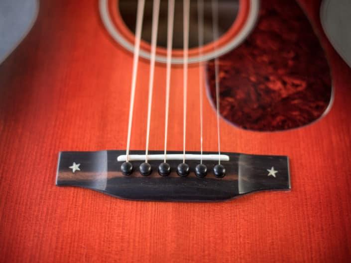 custom 14 fret 00 acoustic guitar