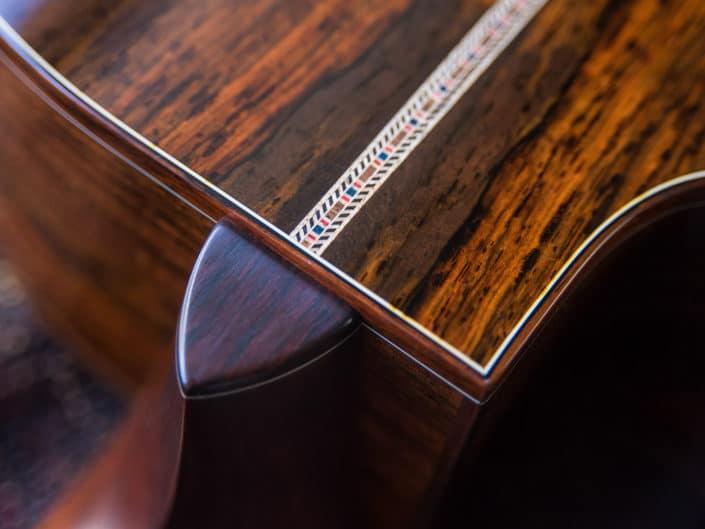 custom guitar back strip