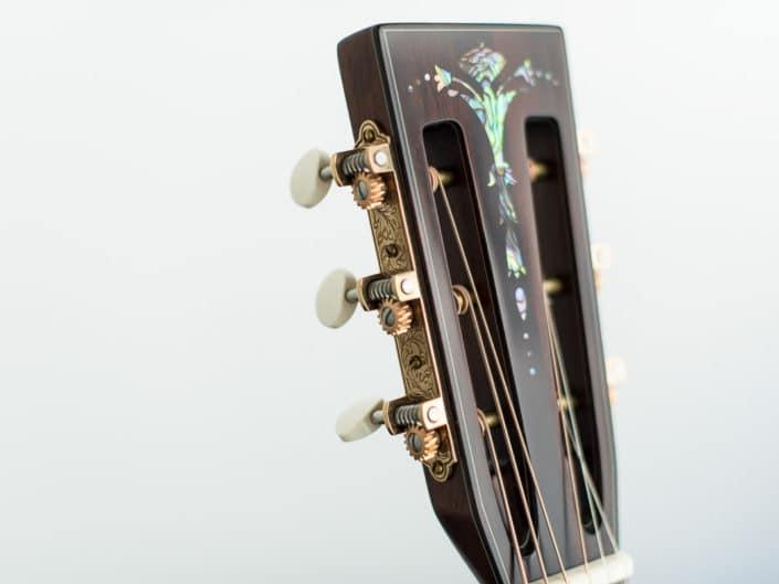 custom guitar inlay headstock