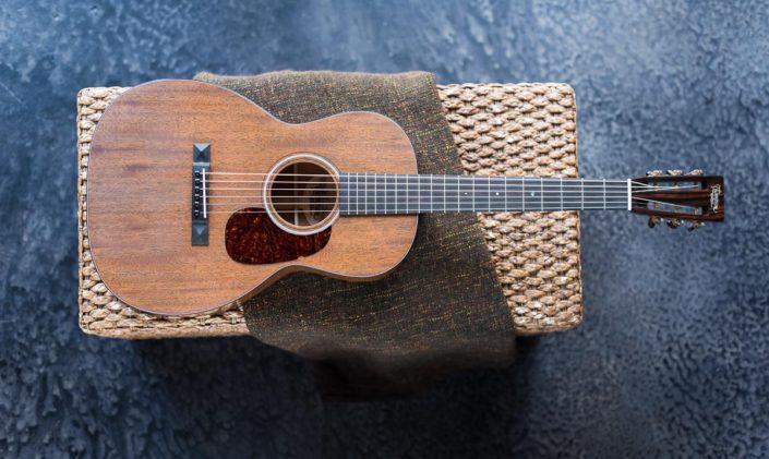 12 Fret 00 All Mahogany guitar
