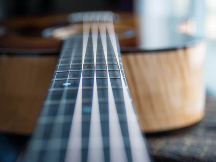 Strings Up Close